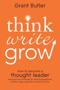 Thinkwritegrow book cover
