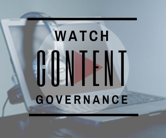 Content Governance Webinar